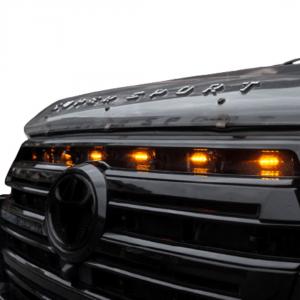 led raptor grill lights land cruiser